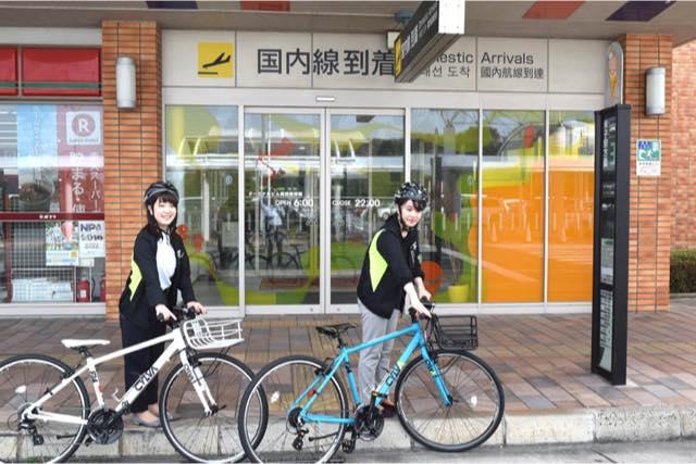 【鳥取・レンタサイクル】ぶらり旅に!米子鬼太郎空港レンタサイクル