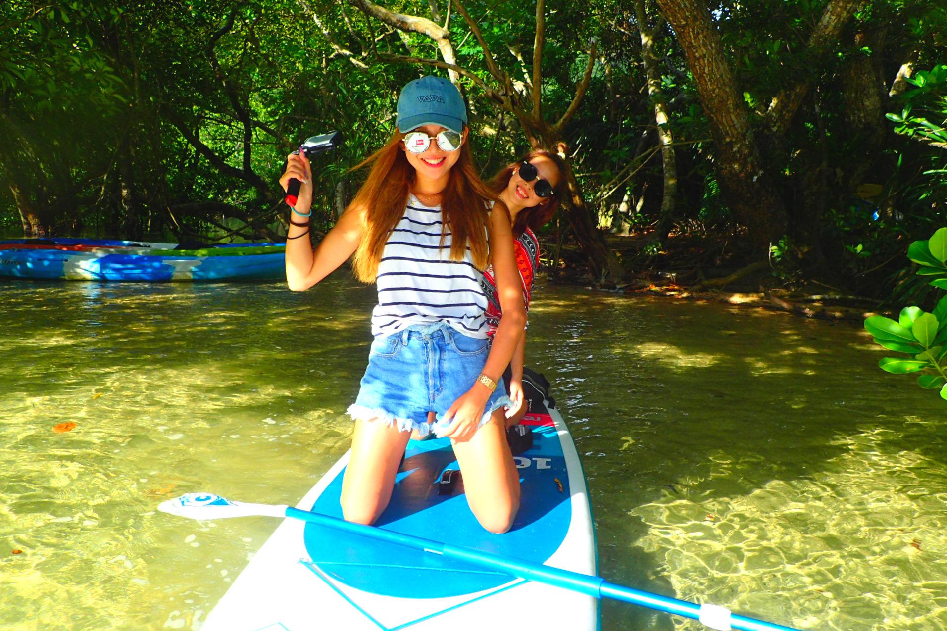 【沖縄・西表島・SUP】マングローブ林で楽しむSUP体験ツアー!