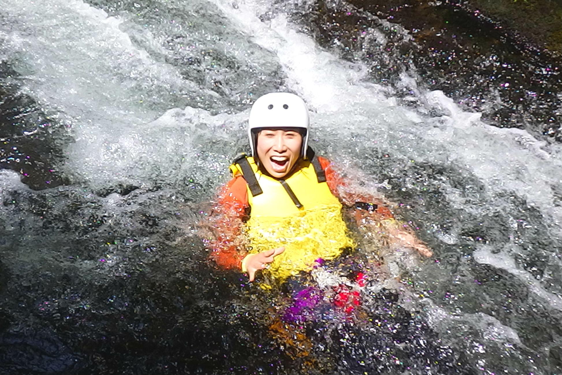 【群馬・片品村】尾瀬の秘境でキャニオニング(3時間コース)