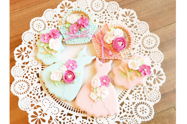 【東京・中央区・お菓子作り体験】季節ごとのテーマで作る、かわいいアイシングクッキー
