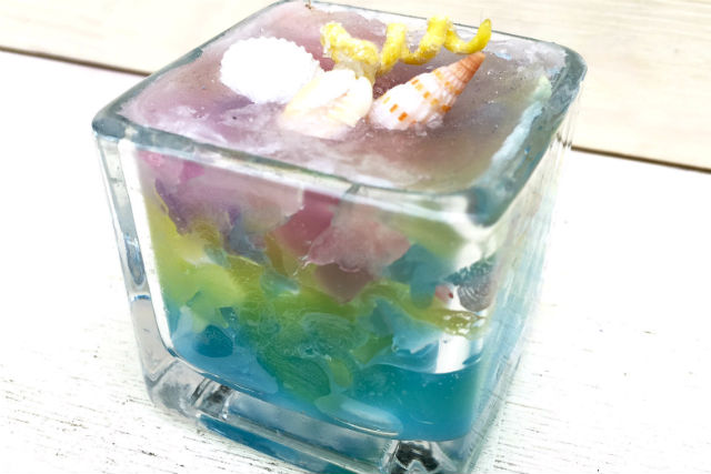 【栃木・宇都宮】四角のグラスにキャンドル作り(60分)