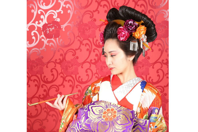 【奈良市】妖艶な花魁になれる!変身写真・花魁コース(写真データ・5カットプレゼント)