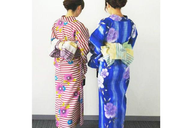 【福岡市】天神観光を楽しもう!浴衣レンタルプラン