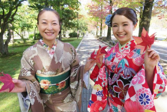 【石川・金沢市】兼六園のすぐ近く!スタンダード着物プラン