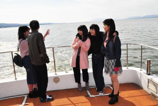 【島根・クルージング】手軽さが嬉しい!神話の湖・宍道湖遊覧貸切プラン