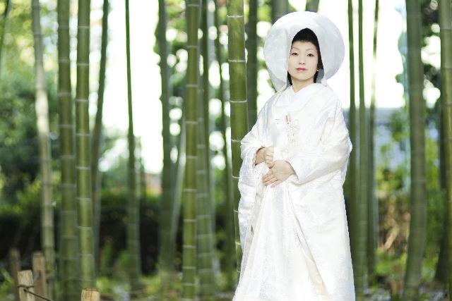 【岡山・変身写真】文金高島田をつけられる!伝統の花嫁着付け体験