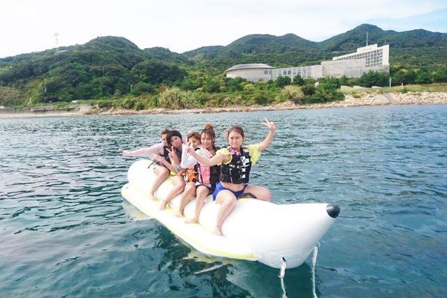 【兵庫・淡路島】マリンスポーツの定番!バナナボート