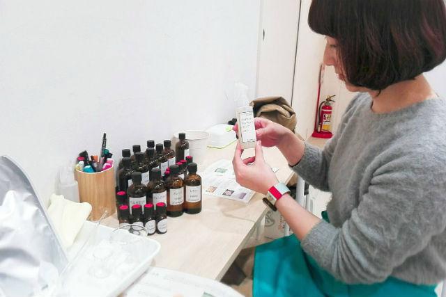 【京都市】天然の香りをブレンド!アロマスプレー