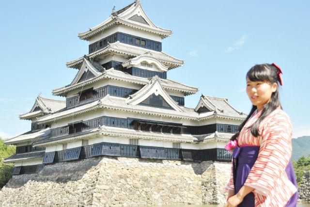 【長野・松本・着物レンタル】女子旅の記念にオススメ!袴レンタル2時間プラン