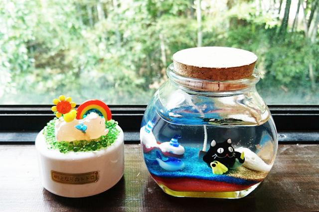 【新潟・月岡温泉・キャンドル作り】キャンドルとオルゴールを作ろう!ダブルコース
