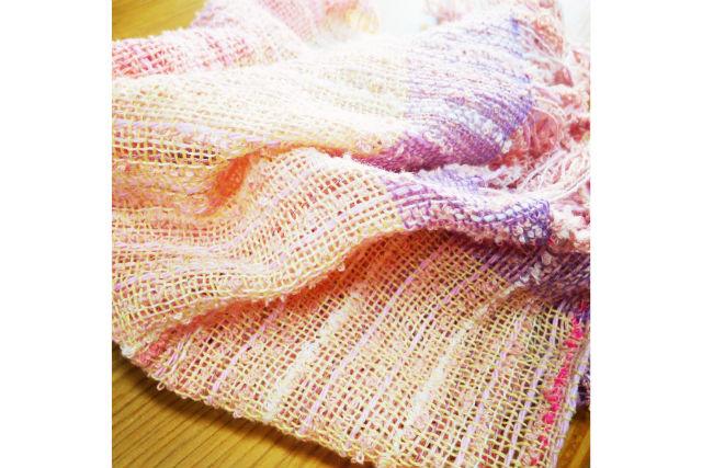 【岡山・倉敷市・機織り体験】糸を織り上げて作ろう。はたおり体験(ランチョンマット)