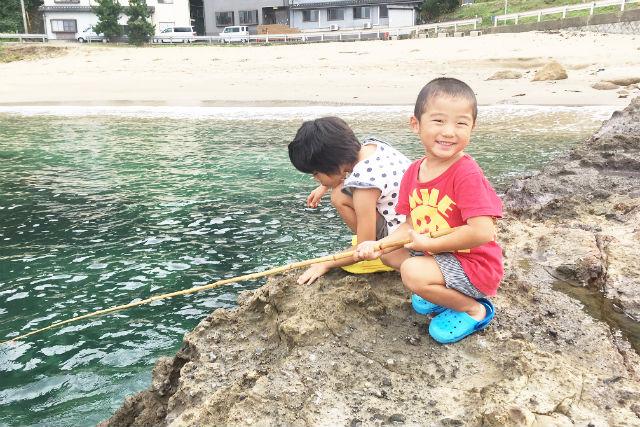 【兵庫・豊岡市・釣り体験】初心者さんいらっしゃい!優しいレクチャー付き・釣り体験