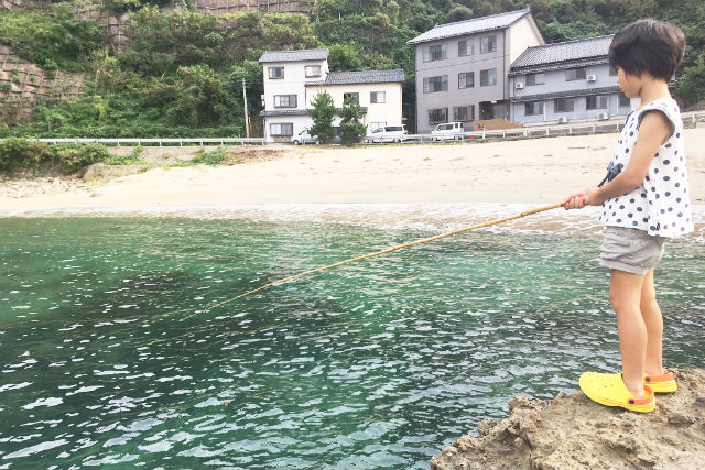 【兵庫・豊岡市・釣り体験】自分で釣った魚を食べられる!お食事付き・釣り体験
