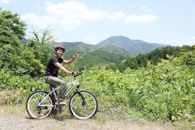 【岡山・真庭市・サイクリング】マウンテンバイクで里山をツーリングしよう!