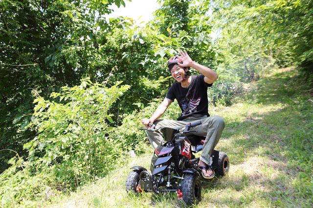 【岡山・真庭市・バギー】ミニバギーで森を疾走!大自然の風を感じよう