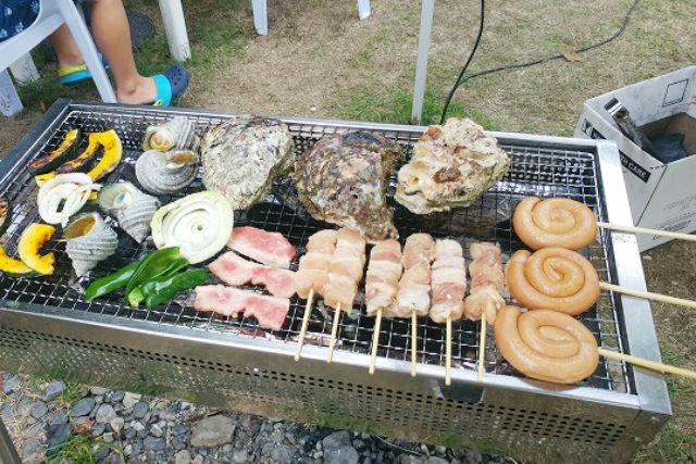 【大分・佐伯市・BBQ】海水浴場がすぐ近くに!BBQプラン(食材持ち込み)
