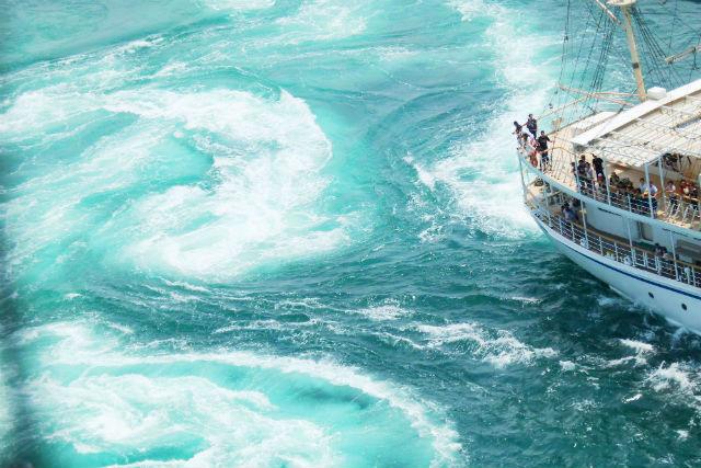 【淡路島・鳴門海峡・クルージング】世界最大のうずしおを体感!うずしおクルーズプラン