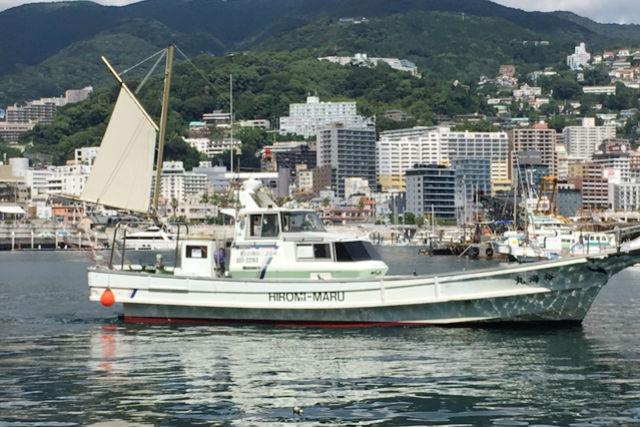 【静岡・熱海・海釣り体験】午前出発!海釣り乗合(5時間)