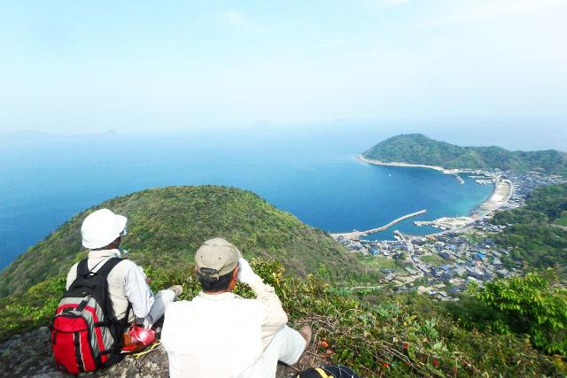 【山口・平郡島・エコツアー】伊予灘を望む!大嶽・大滝山登山と、戦争遺構巡り