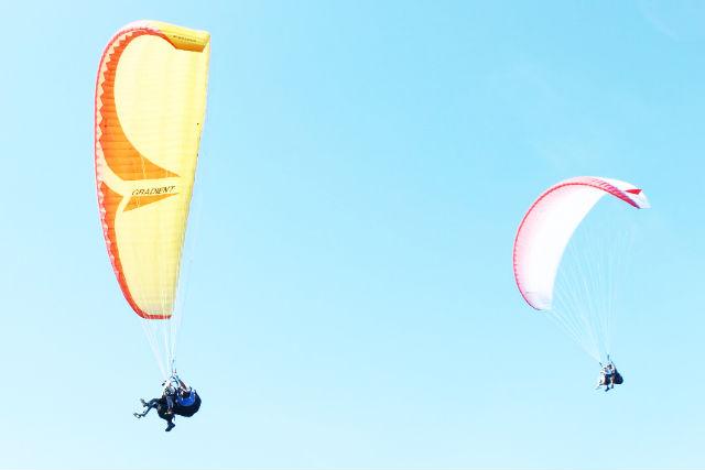 【青森・パラグライダー】鳥になって飛ぼう!パラグライダー・タンデムフライト