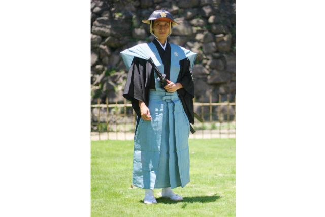 【和歌山・コスプレ体験】時代衣装着付体験(侍)3時間