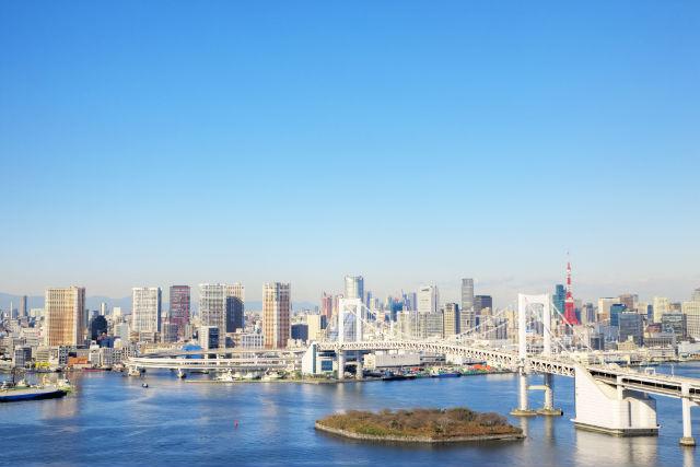 【東京・新木場・ヘリコプター遊覧】レインボーブリッジやスカイツリーを見に行こう!東京ツアー