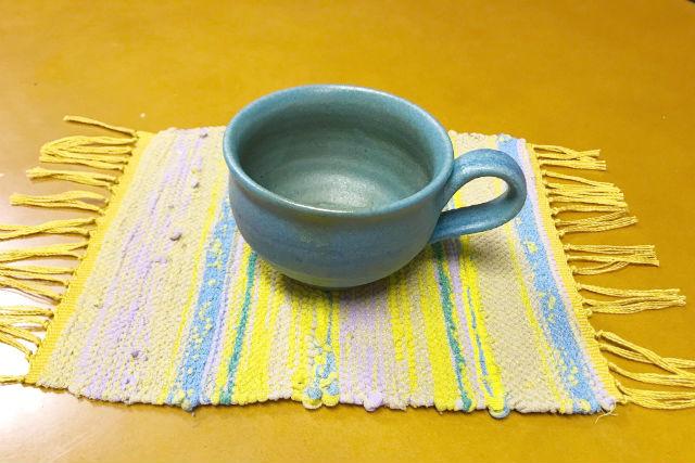 【神奈川・横浜市・機織り体験】織り姫の気分で楽しもう!裂き織を体験(コースター/ランチョンマット)