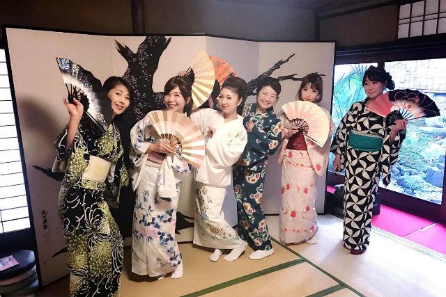 【京都・着物レンタル】築300年の武家屋敷!着物レンタル(2時間)