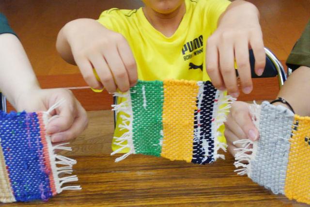【栃木・那須・機織り体験】古民家で手織り体験(テーブルセンターまたはコースター)