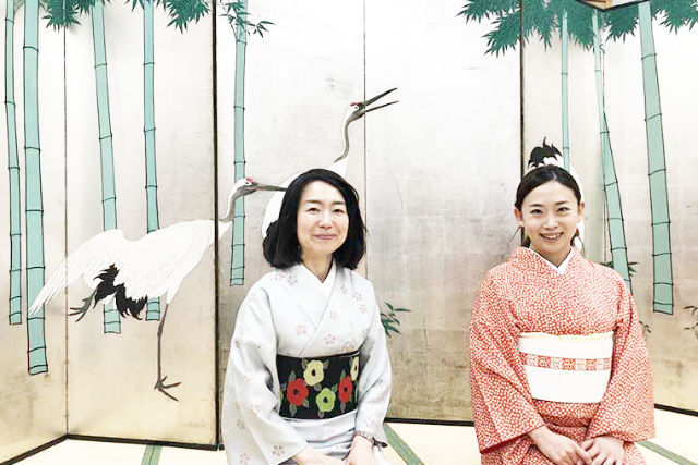 【北海道・札幌・着物レンタル】北海道の思い出に!着物着付け体験