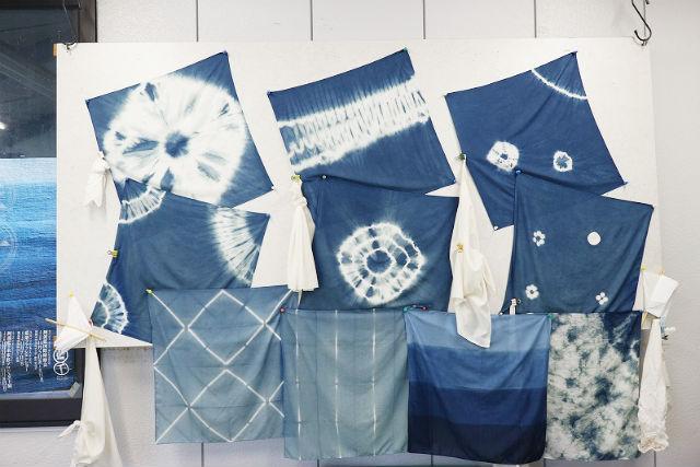 【徳島・藍染め体験】職人の巧の技にふれる、藍染ハンカチづくり