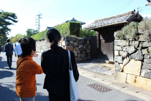 【山口・萩・ガイドツアー】古地図を片手にまちを歩こう!堀内伝建地区Aコース