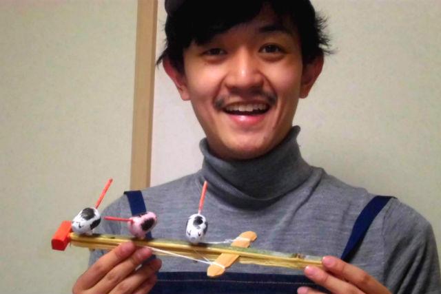【岐阜・山県・伝統工芸体験】昔ながらのおもちゃを作ろう!郷土玩具作り体験