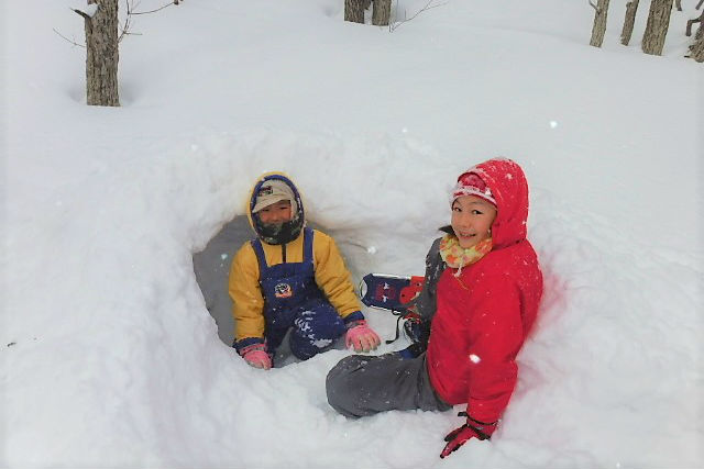 【栃木・那須・スノーシュー】思いっきり雪遊び!ベテランガイドと行くスノーシュー