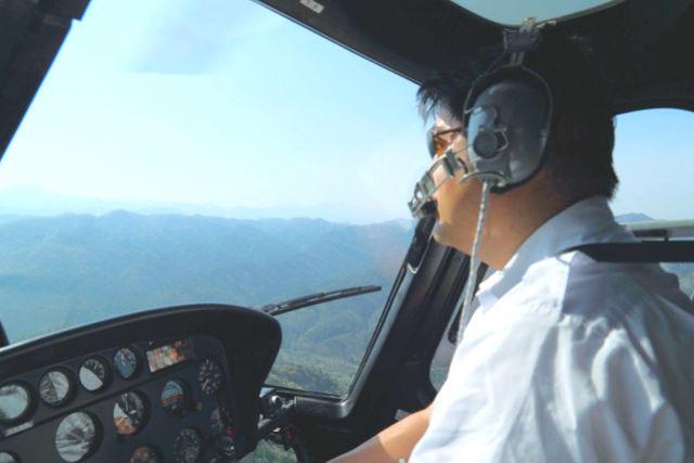 【伊勢志摩・ヘリコプター遊覧】英虞湾コース(飛行6分)