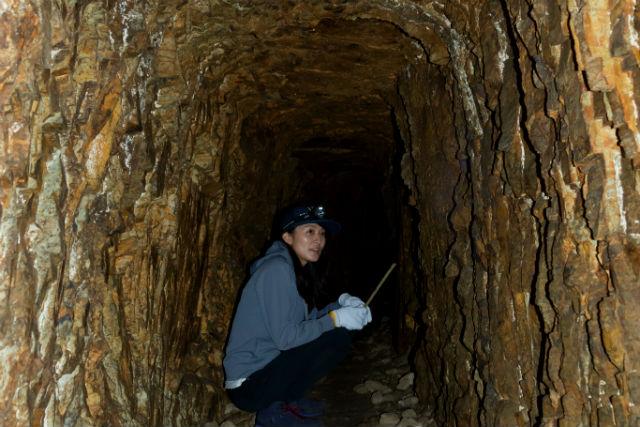 【岐阜・山県・洞窟探検】大人の冒険心をくすぐる!マンガン鉱床洞窟探検(コーヒー付き)
