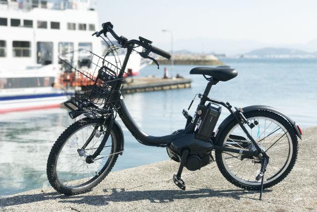 【愛媛・松山・サイクリング】フェリーに乗って島へ行こう!電動アシスト付レンタサイクル