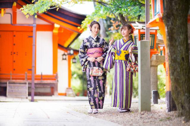 【東京・新宿・着物レンタル】新宿観光が楽しくなる!着物レンタル&着付けプラン