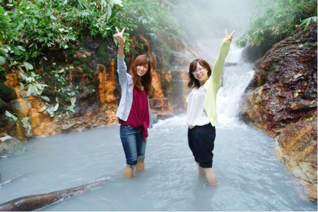 【北海道・登別・エコツアー】大自然を見学!登別温泉の源泉+原始林ウォッチング