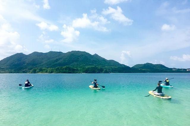 【沖縄・石垣島・SUP】石垣島の絶景スポット!川平湾で昼SUP