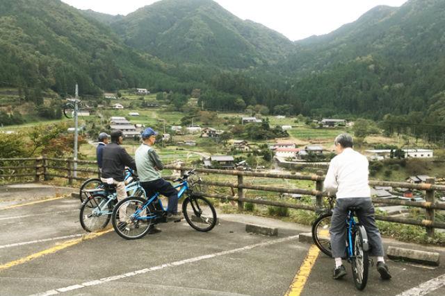【岐阜・下呂・サイクリング】大自然をゆっくり満喫!自転車ツアー(特製ランチ+入浴券付き)