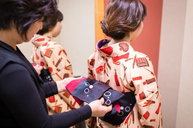 【金沢・着物レンタル・浴衣レンタル】かわいいヘアセット付き!和服で金沢散策!スタンダードプラン(女性向け)