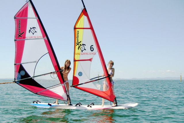 【大阪・ウィンドサーフィン】2種類楽しめてお得!ウインド&ウェイク体験コース