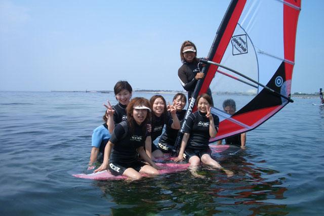 【大阪・ウィンドサーフィン】じっくり学べる!初心者3回コース