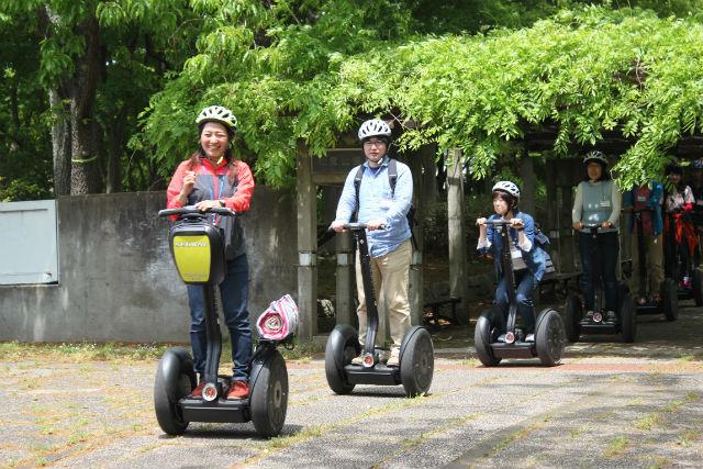【茨城・つくば・セグウェイ】日本初!公道を走れるセグウェイツアー