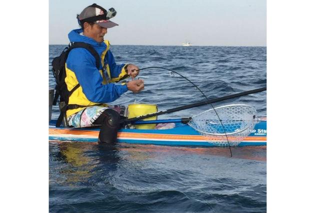 【福岡・博多・SUP】季節の魚を釣ろう!SUPで魚釣り体験