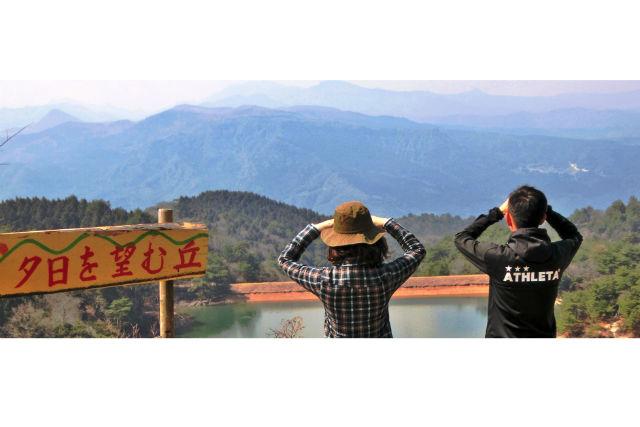 【大分・中津・ハイキング】「八面山」のロマンチックなスポットをめぐるハイキング(自家用車プラン)