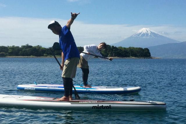 【静岡・西伊豆・SUP】海鮮BBQ付き!マリンスポーツ3種&レンタルSUP