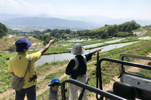 【長野・上田・自然体験】日本の棚田百選の絶景を満喫!棚田アドベンチャーガイド