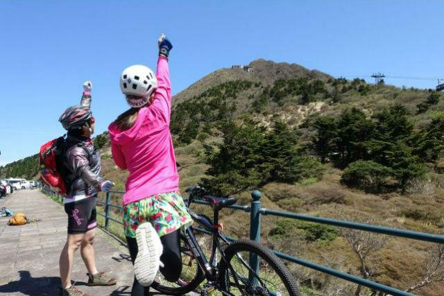 【長崎・雲仙・MTB】半日・マウンテンバイクでパワースポット巡り!(ランチ・デザート付)